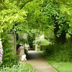 Lovely gardens at Edington