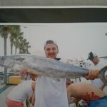 Went on fishing charter...awesome catch even on rainey day!