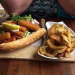 The fish finger sandwich