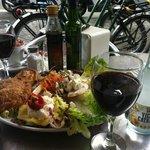 Lunch at Rekon. Bikes got us there. Bikes got us to Primavera Sound Fest.