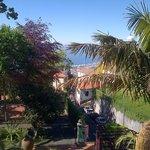 Surplombant Funchal : Vue de la terrasse de la chambre