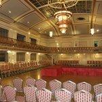 Ballroom showing light and sprung dance floor