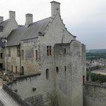 le chateau vu de l'intérieur