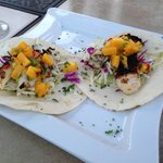 Fish Tacos @ Crooked Floor Tavern-Rooftop Dining, Murrells Inlet, SC