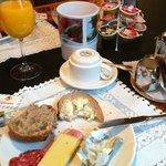 Breakfast, Hotel Traube