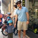 Family Bike Tour - starting tour