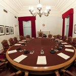 A replica of the Privy Council Chamber
