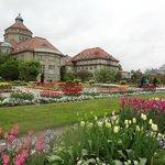 В ботаническом саду Мюнхена