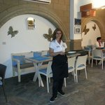 In di stefano restaurant by lefty you can eat inside in an also nice ambiance when the weather i
