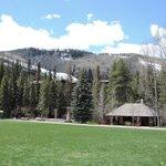park near Betty Ford Alpine Gardens