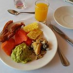 Brunch at the hotel