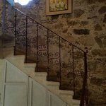 "Staircase to the loft in the room ""Don Agustin"""