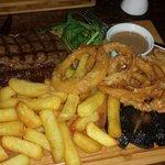 Rump steak, yum!