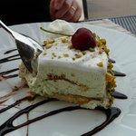 Petit dessert au restaurant à la carte (le midi)