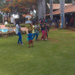 Children s are busy in playing