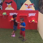 Son loved Angry bird activity