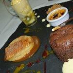 L'assiette de Desserts du Chef