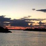 El crucero del rio Zambeze