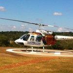 Vista desde helicoptero del las cataratas