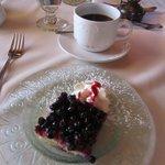 Lemon-Blueberry torte