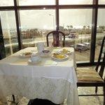 Vista dalla sala colazione