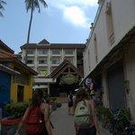 Calle de entrada