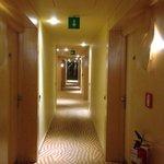 Corridoio camere 2 piano