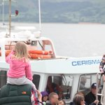 Passengers Boarding The Carismar Two Cruise to Puffin Island- Courtesy - Paul Rees