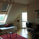 living room abd balcony