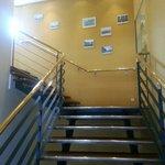 Escalier d'entrée