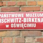 Sign at Birkenau / Auschwitz