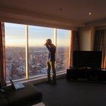 Sunrise on the 70th floor