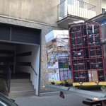 Goods unloaded