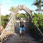 Rope Bridge in Atlantis