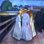 Munch: On the Bridge