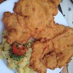 What a schnitzel!