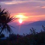 tramonto da Villa Damecuta
