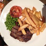 My delicious gluten free steak and chips