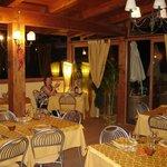 Dakterras restaurant La Grotta Hotel