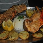Grilled lobster - its a pity - not mine
