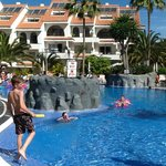 childrens and adult pool ajoining