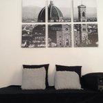 Sofa in Deluxe Suite