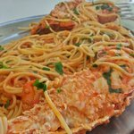 Lobster with pasta - you should order it a day before, but its worth
