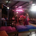 Belly dance show on the Roof top Bar.