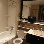 bathroom in 2 bdrm suite