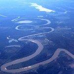 Il Pantanal dall'aereo