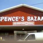 Exterior of Spence's Bazaar