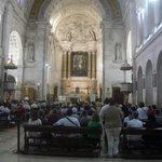 Inside Our Lady of Fatima Basilica