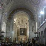Inside Our Lady of Fatima Baslica