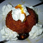 OMG Deep-fried ice cream is enough for four!